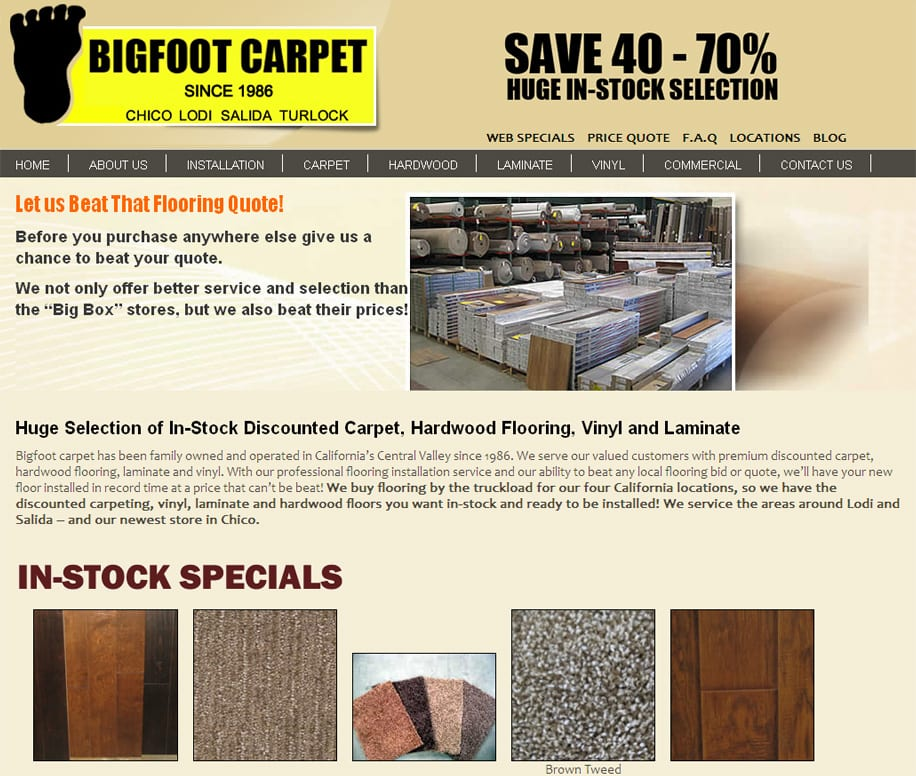 Bigfootcarpets